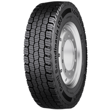 Грузовая шина Continental 235/75R17.5 132/130M TL Conti Scandinavia LD3 EU LRF 12PR M+S 3PMSF